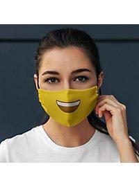 Stoffmaske Smile