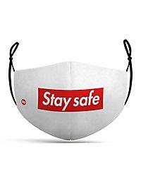 Stoffmaske Stay Safe