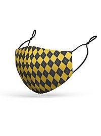Stoffmaske Zauberschule gelb