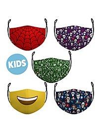 Stoffmasken für Kinder Sparpack Schule