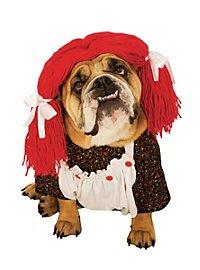 Stoffpuppe Hundekostüm