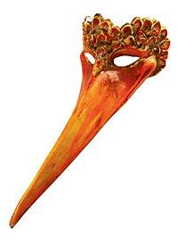 Storch - Venezianische Maske