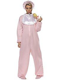 Strampler Kostüm für Erwachsene rosa