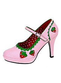 Strawberry Platform Shoes
