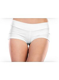 Stretch Boy Shorts white