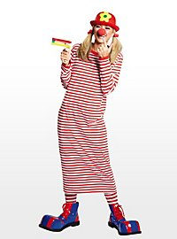 Striped Nightshirt red-white