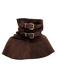 Suede Gorget - Rogue dark brown