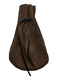 Suede Moneybag dark brown