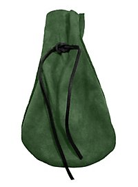 Suede Moneybag green