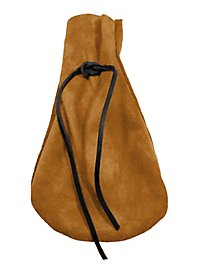 Suede Moneybag light brown