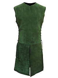 Suede Surcoat green