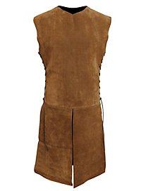 Suede Surcoat light brown