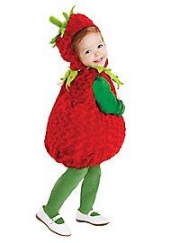 Süße Erdbeere Kinderkostüm
