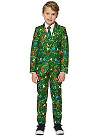 SuitMeister Boys Green Tree LED Suit for Kids