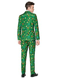SuitMeister Christmas Green Tree Party Suit