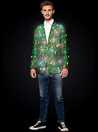 SuitMeister Green Tree LED Jacket