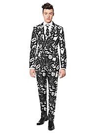 SuitMeister Halloween Black Icons Party Suit