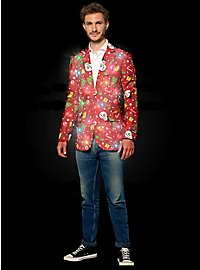 SuitMeister Red Icon LED Jacket