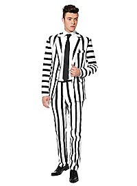 SuitMeister Striped Black White Party Anzug