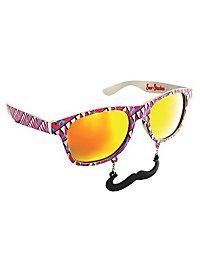 Sun Staches 80er Partybrille