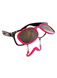Sun Staches '90s Party Glasses