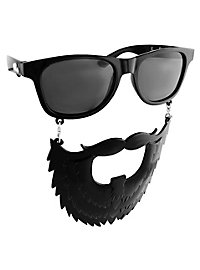 Sun Staches Black Beard Party Glasses