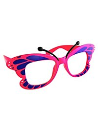 Sun Staches Butterfly Party Glasses