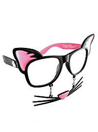 Sun Staches Cat Party Glasses