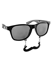 Sun Staches Classic black Party Glasses