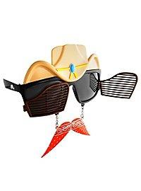 Sun-Staches Cowboy Party Glasses