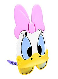 Sun-Staches Daisy Duck Party Glasses