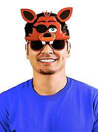 Sun Staches Foxy Party Glasses