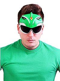 Sun Staches Green Power Ranger Party Glasses