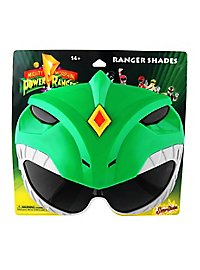 Sun-Staches Grüner Power Ranger Partybrille