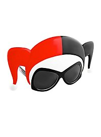 Sun-Staches Harley Quinn Mask Party Glasses