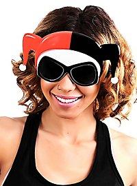 Sun Staches Harley Quinn Maskenbrille
