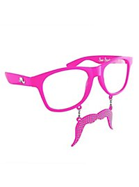 Sun Staches It Girl Party Glasses