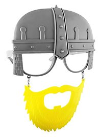 Sun Staches Knight Party Glasses