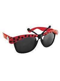 Sun Staches Marienkäfer Partybrille