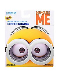 Sun Staches Minion Brille grau