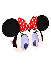 Sun Staches Minnie Mouse Face Party Glasses