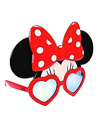 Sun Staches Minnie Mouse Party Glasses
