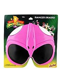 Sun-Staches Pinkfarbener Power Ranger Partybrille