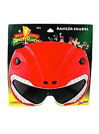 Sun Staches Red Power Ranger Party Glasses