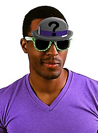 Sun-Staches Riddler Party Glasses
