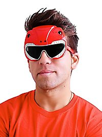 Sun Staches Roter Power Ranger Partybrille