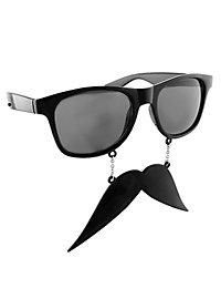 Sun-Staches Schnauzer Partybrille