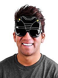 Sun Staches Schwarzer Power Ranger Partybrille