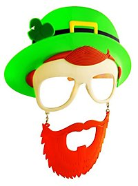 Sun Staches St. Patrick's Day Party Glasses