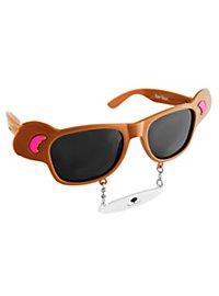 Sun Staches Teddy Bear Party Glasses